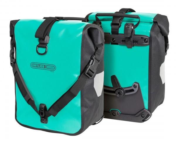 Ortlieb Sport-Roller Free waterproof cycle bags PVC-free (pair) | lagoon-black