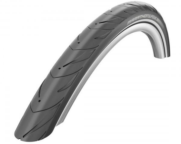 Schwalbe Marathon Supreme City-Tire 28 inch x 1.60 (44-622) | black-reflective