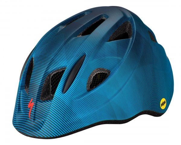 Specialized Mio MIPS Kinder Fahrrad Helm | cast blue-aqua refraction