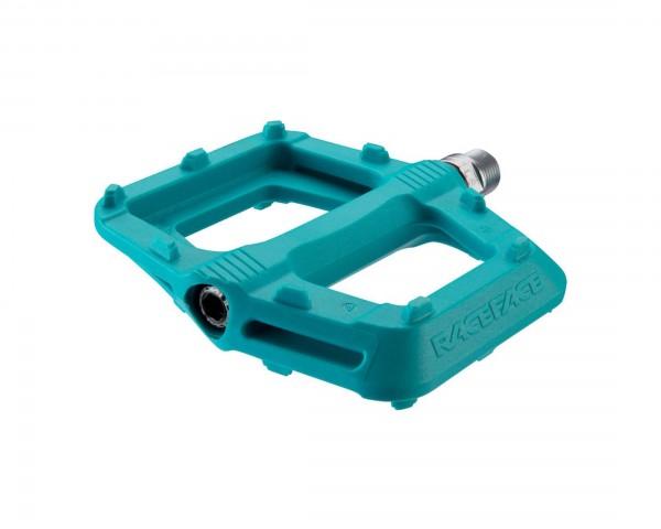 Race Face Ride Composite Platform Pedals (Pair) | turquoise
