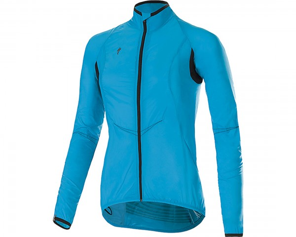 Specialized Deflect Comp Damen Jacke | neon blu