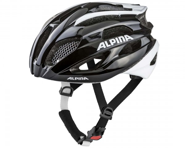 Alpina Fedaia Road Bike Bike Helmet | black-white