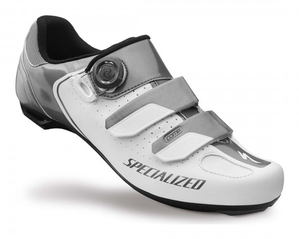 Specialized Comp Road Rennradschuhe | White-Titanium