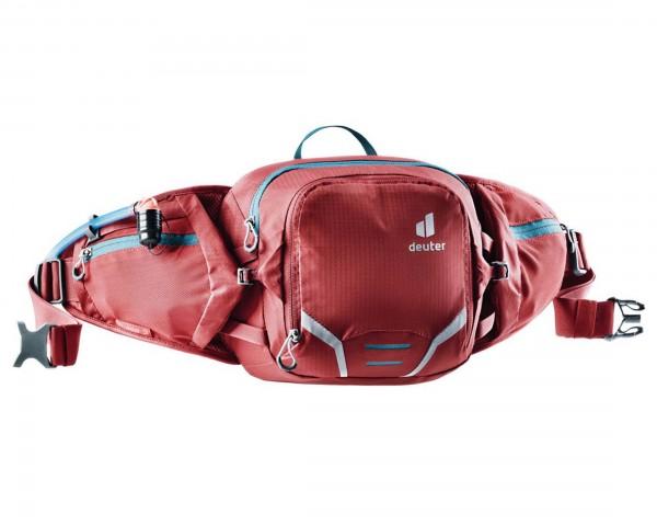 Deuter Pulse 3 Hip Belt Bottle Bag | cranberry