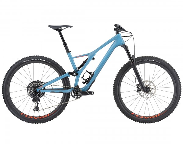 Specialized Stumpjumper Expert Carbon 29 - MTB Fully 2019 | gloss-storm grey-rocket red