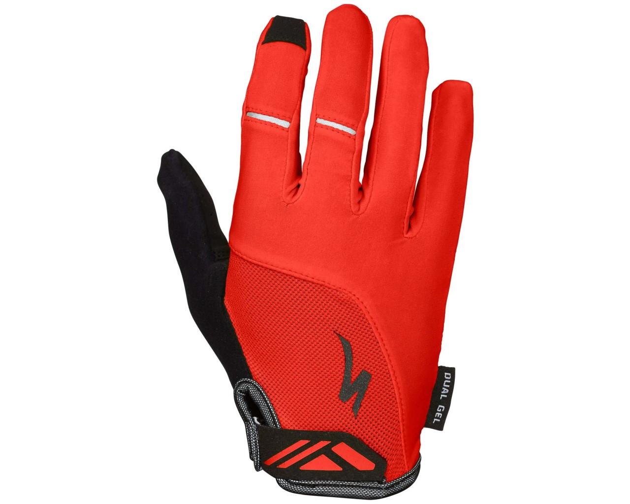 Specialized Body Geometry Dual-Gel Women Gloves longfinger   red
