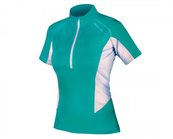 Endura Womens Pulse Jersey short sleeve | teal