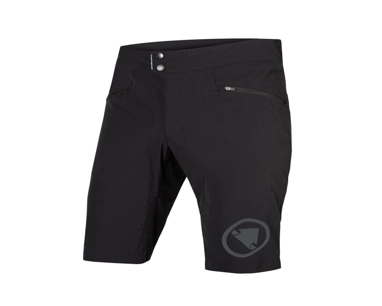 Endura SingleTrack Lite Short Fit Shorts | black