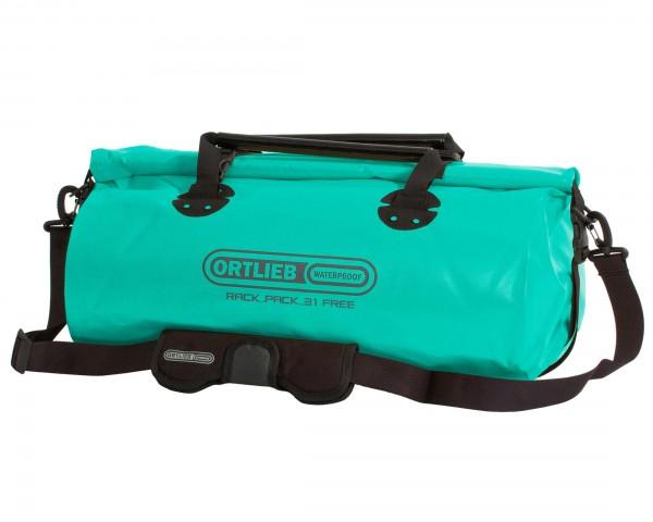 Ortlieb Rack-Pack Free waterproof bag PVC-free 31 liter - size L | lagoon-black