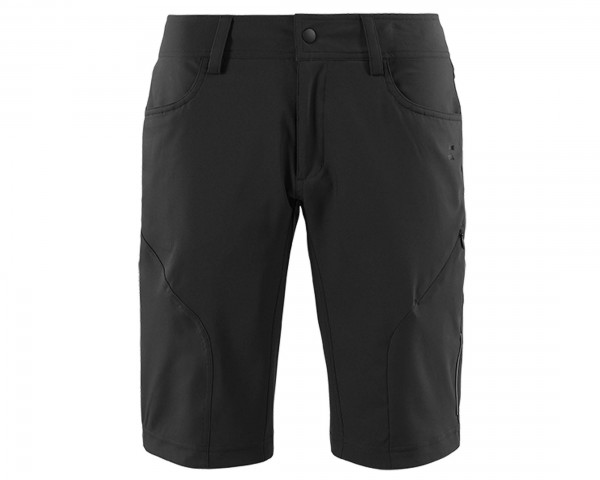 Cube Square WS Damen Baggy Shorts Active | black