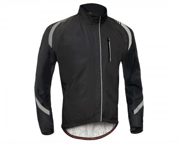 Specialized Deflect RBX Elite Hi-Vis Rain Jacket | black carbon