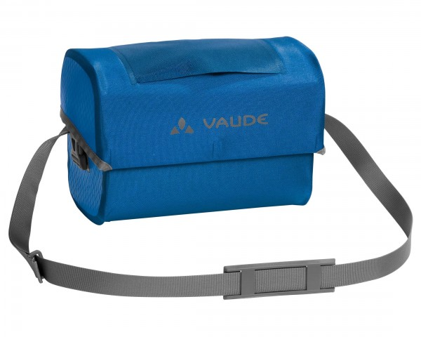 Vaude Aqua Box waterproof handlebar bag PVC-free | blue