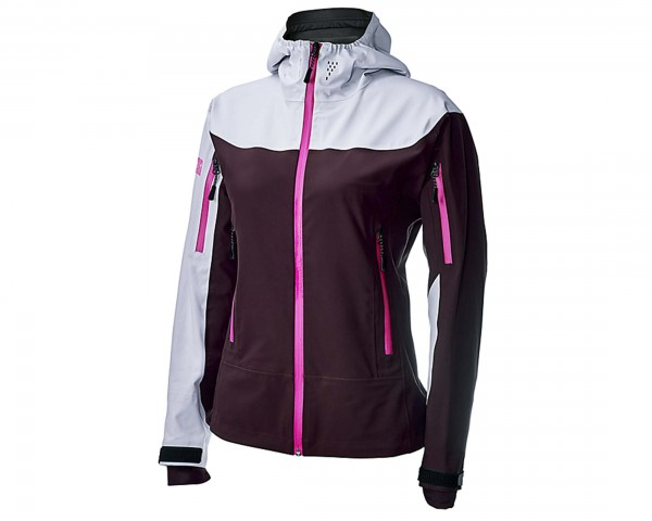 Specialized Womens 686 x Tech Jacket | black ruby