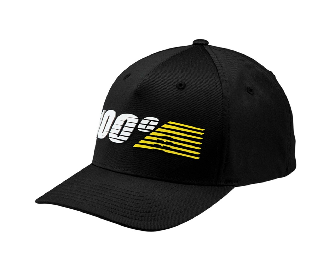 100% Starlight Flexfit Hat | black