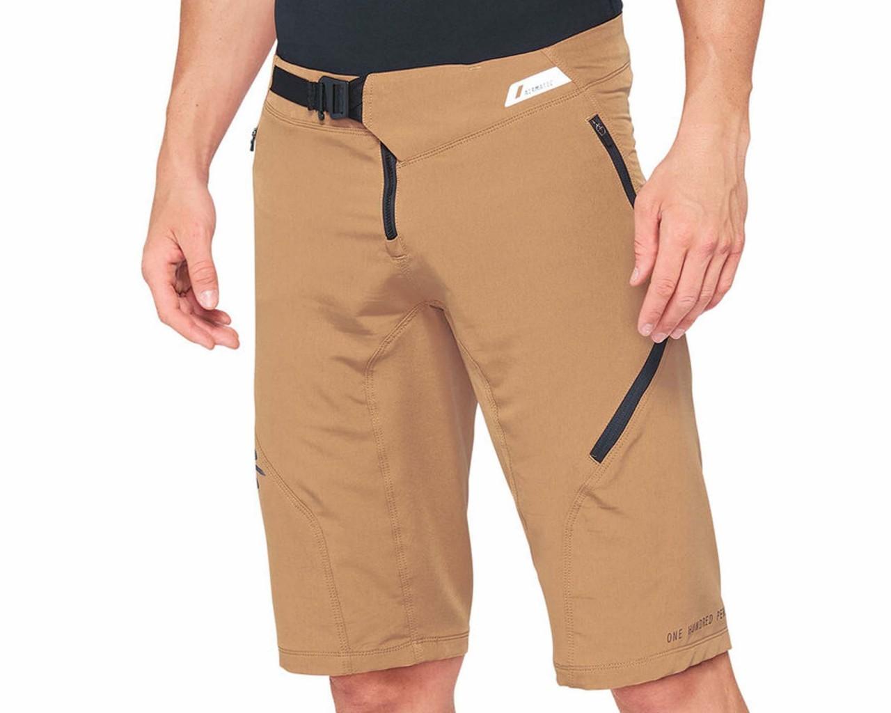 100% Airmatic Enduro-Trail Shorts | caramel