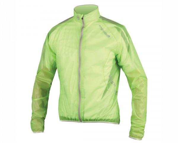 Endura FS260-Pro Adrenaline Race Cape waterproof Jacket | lime green