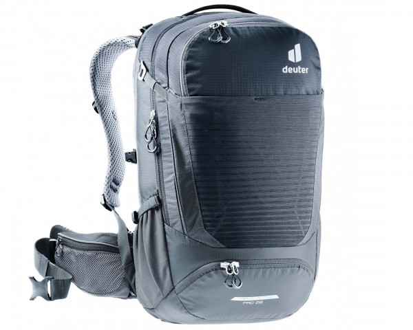 Deuter Trans Alpine Pro 28 litres Bike Backpack | black-graphite