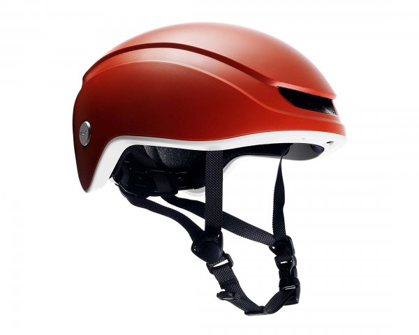 Brooks Island cycle helmet | orange-grey