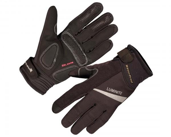 Endura Womens Luminite long fingers gloves | black