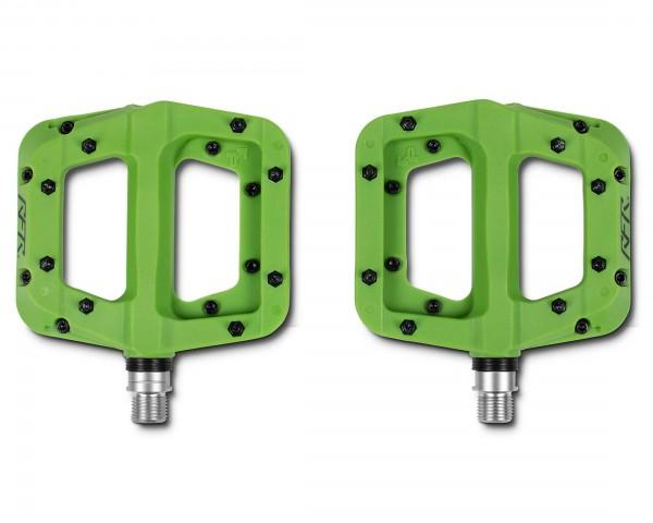 Cube RFR Pedale Flat HPP Race (Paar) | green
