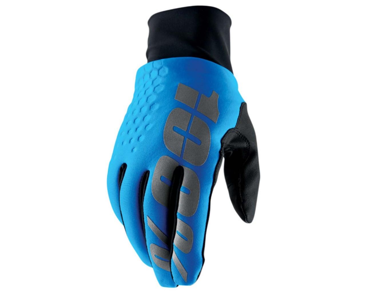 100% Hydromatic Brisker Kaltwetter & Wasserfester Handschuhe   cyan