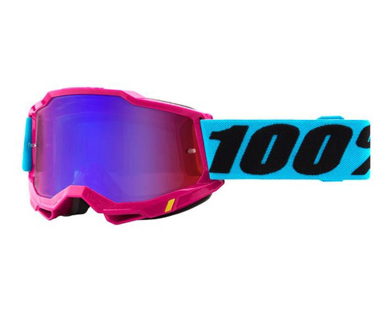 100% Accuri Generation 2 goggle - anti fog mirror lens | Lefleur