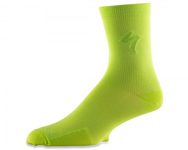 Specialized Soft Air Road Tall Socks | hyper green