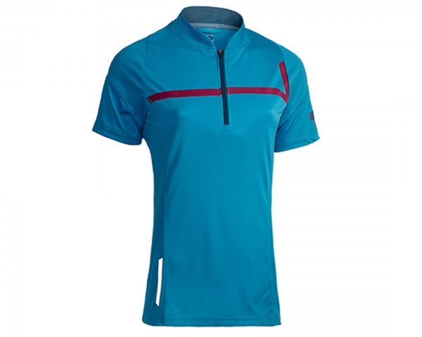 Cube Motion Line WLS Womans Jersey short sleeve | blue