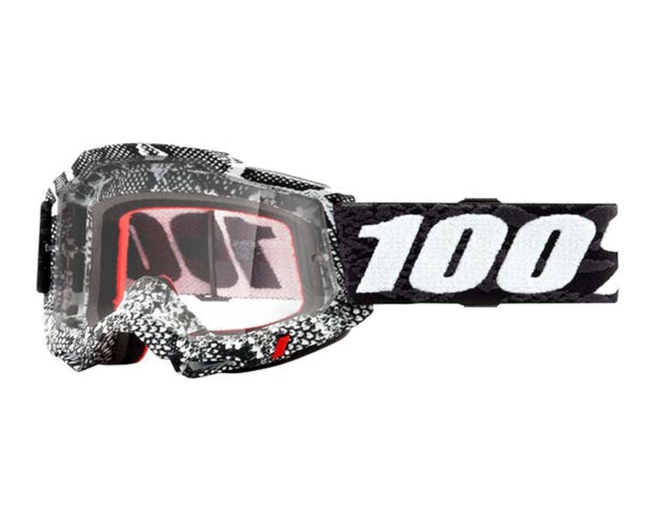 100% Accuri Generation 2 goggle - anti fog mirror lens   Cobra