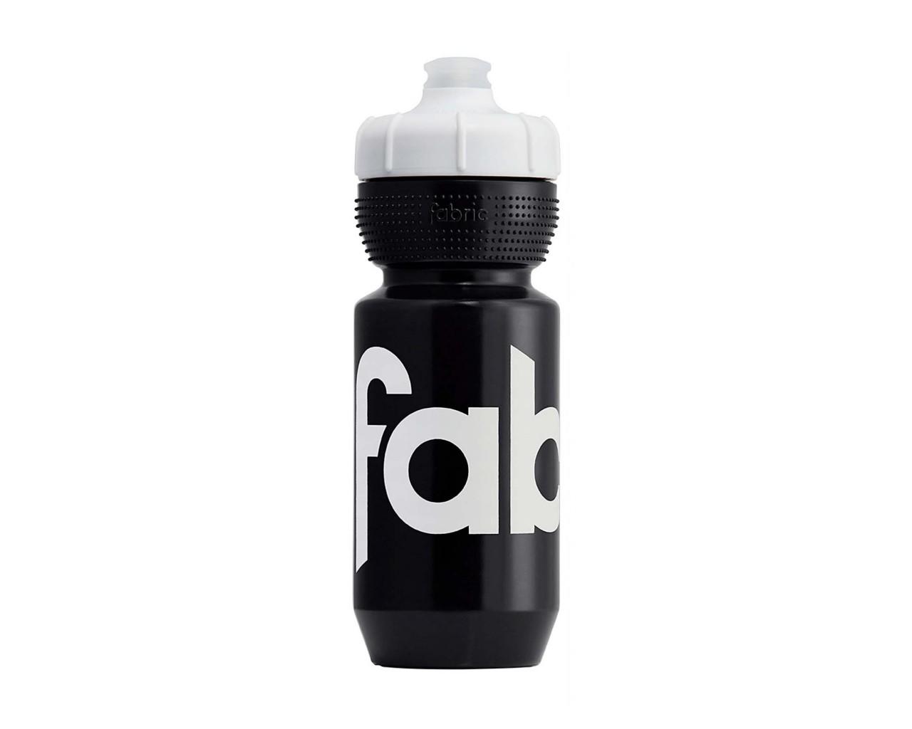 Fabric Gripper Isolierte Trinkflasche 550 ml | black-white