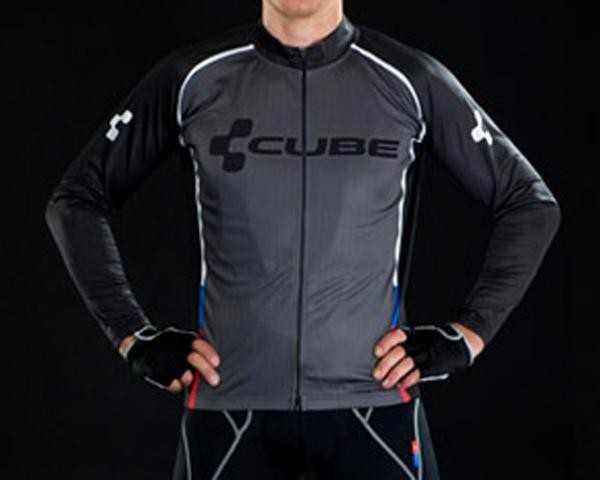Cube Blackline Freeride Jersey Basic Lang Men