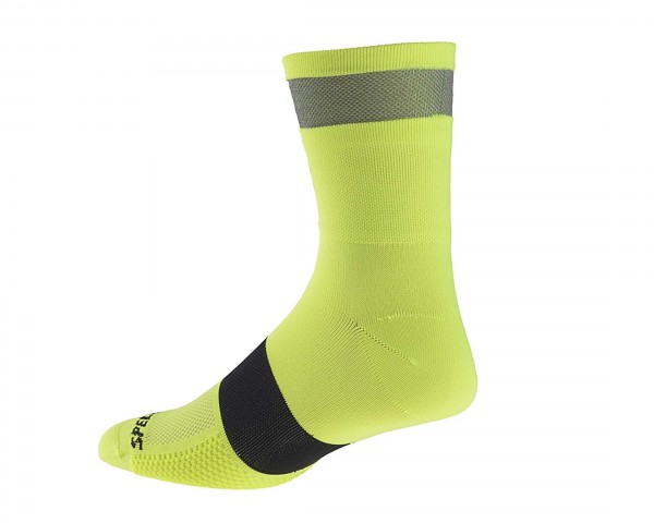Specialized Reflect Tall Socken | neon yellow
