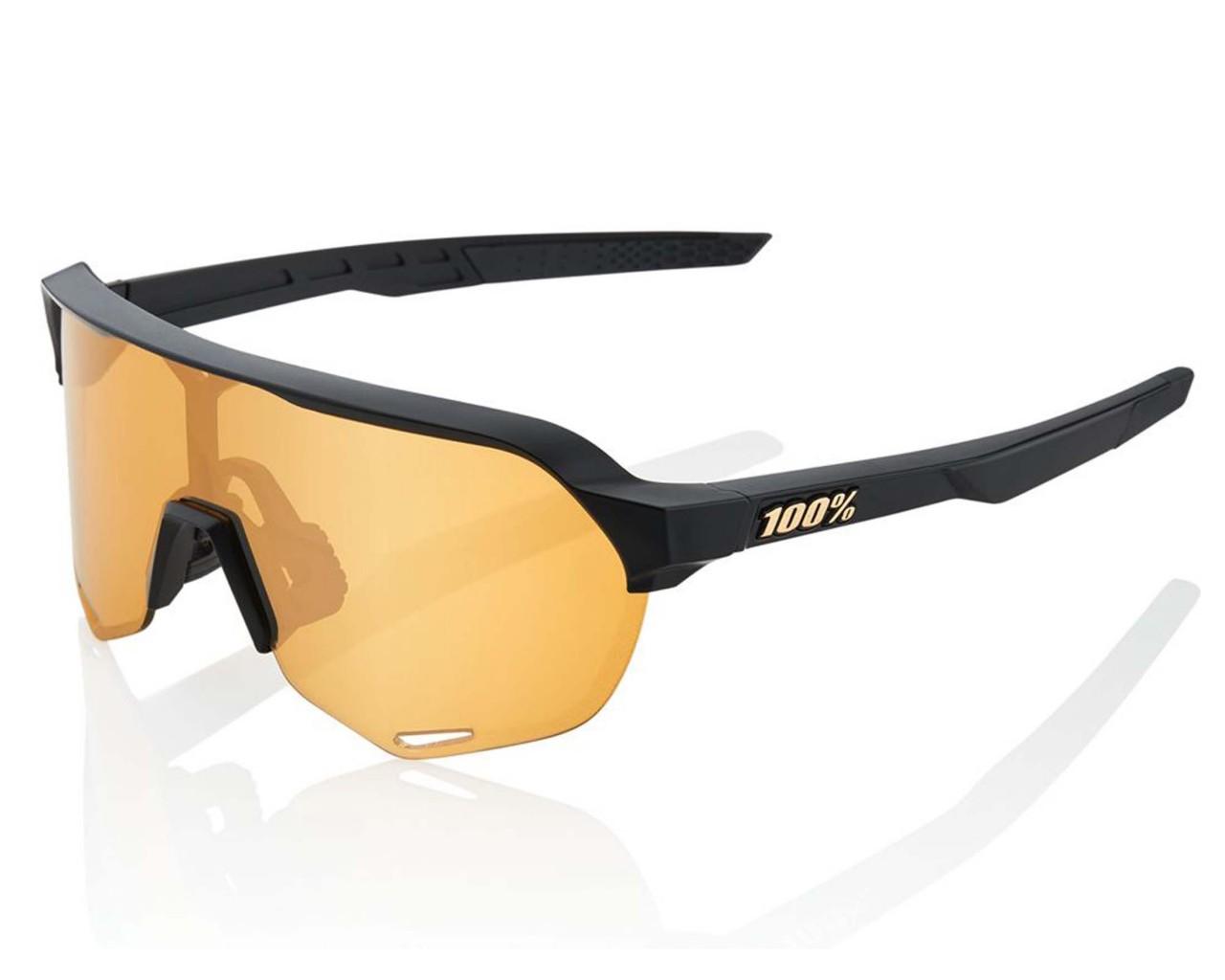 100% S2 - Multilayer Mirror Sports sunglasses | matte black