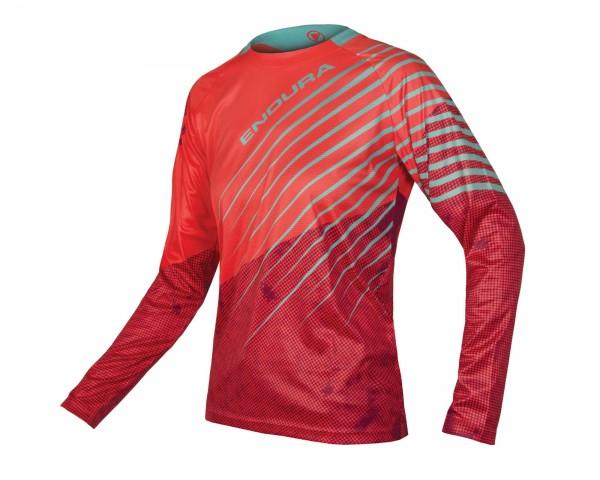 Endura Womens MT500 Longsleeve Jersey | coral