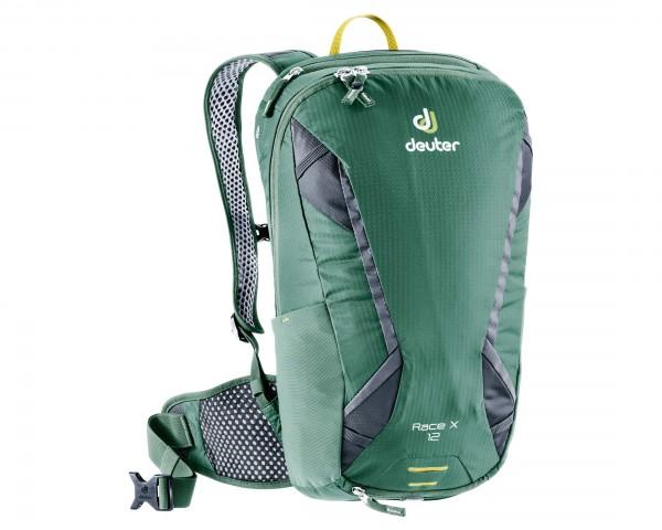 Deuter Race X 12 litres Bike backpack | seagreen-graphite