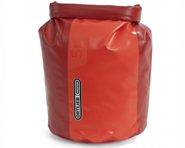 Ortlieb dry bag PD350 - 5 liter | cranberry-signal red