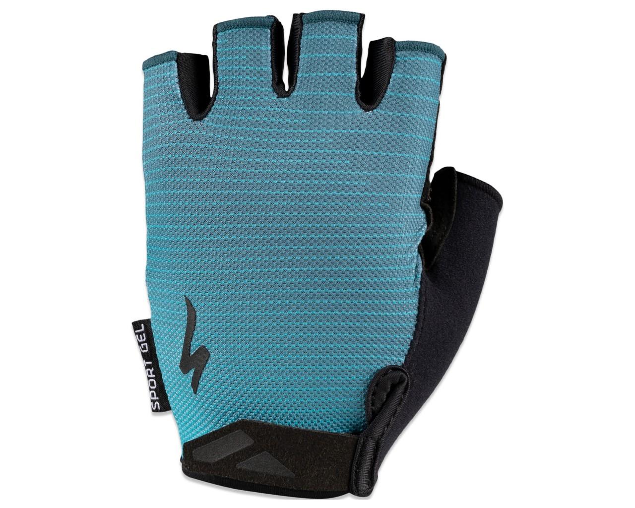 Specialized BG Sport Gel Damen Handschuhe kurzfinger | aqua-dusty turquoise arrow