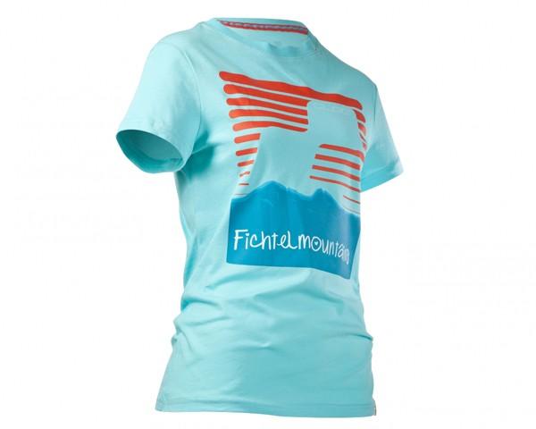 Cube WLS T-Shirt Fichtelmountains | light blue