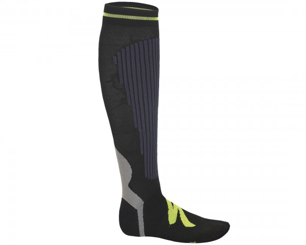 Specialized Graduated Compressions Socken | anthracite-neon yellow