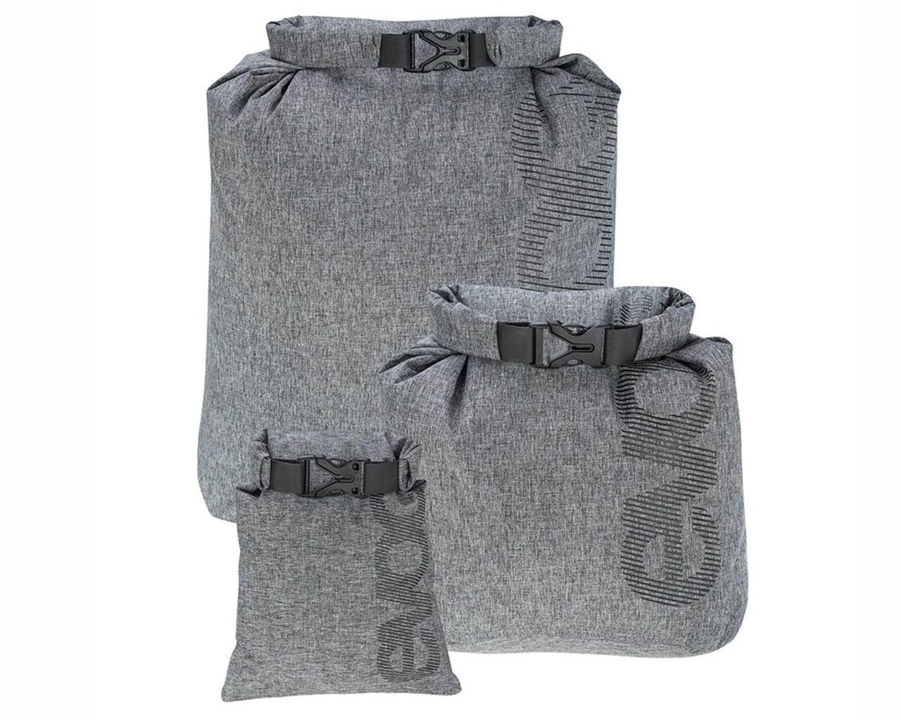 Evoc Safe Pouch Set Waterproof Beutel Set für Kleinteile   black-heather grey