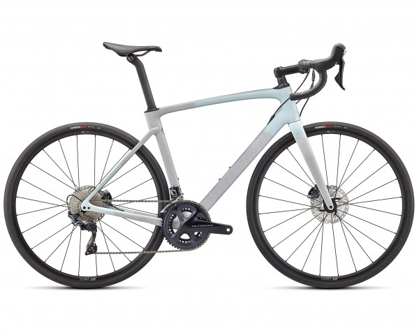 Specialized Roubaix Comp - Carbon Rennrad 2021 | gloss ice blue-dove grey-cool grey