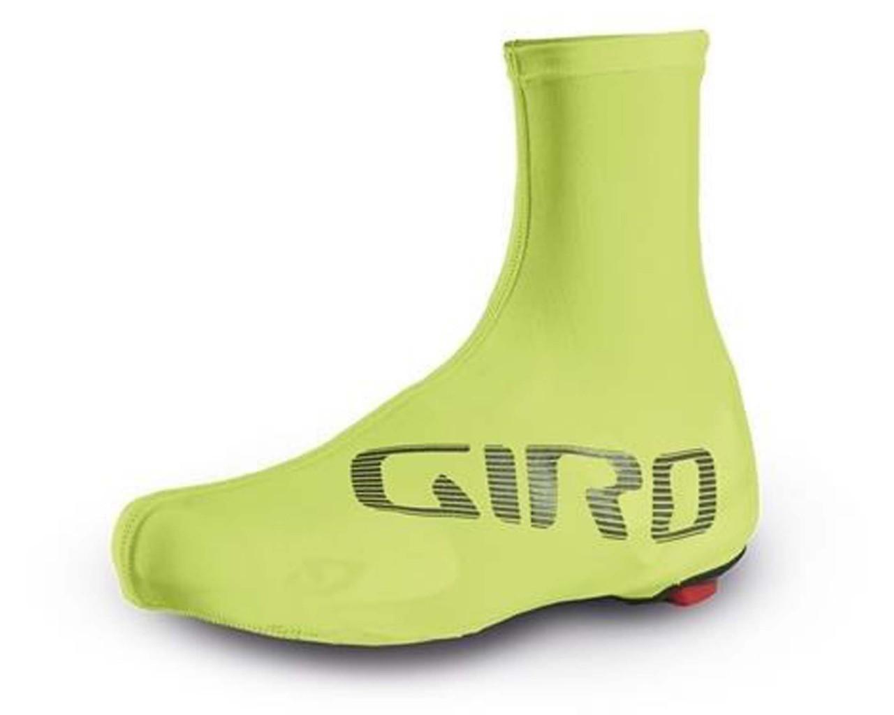 Giro Ultralight Aero Shoe Cover | yellow-black