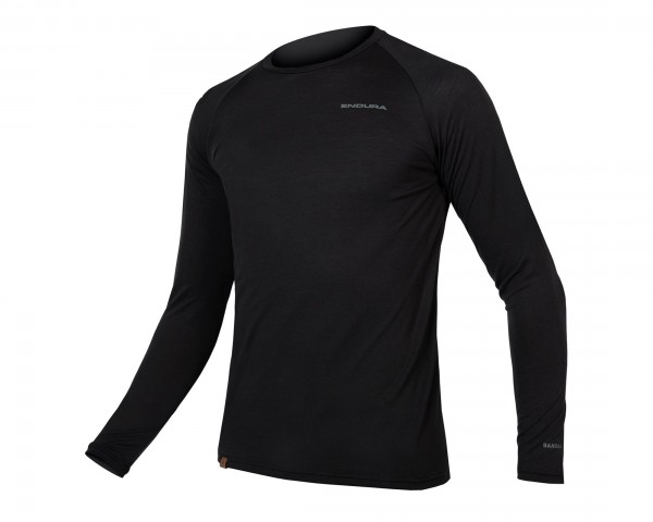 Endura BaaBaa Blend Long-Sleeved Baselayer | black