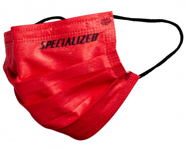 Specialized Face Mask 3 pieces | red-white