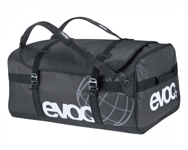 Evoc Duffle Bag 60 litres travel bag and backpack | black