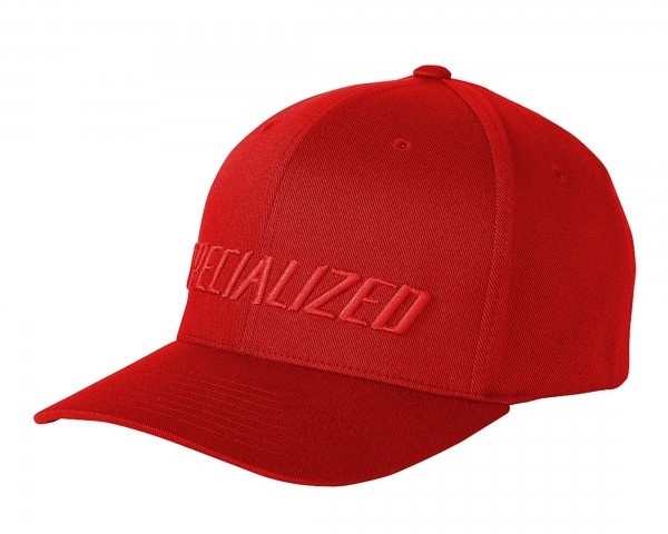 Specialized Podium Hat - Traditional Fit | red-red