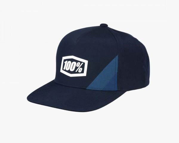 100% Cornerstone Kinder Trucker Hat | navy