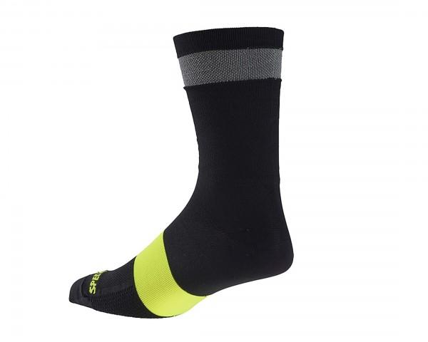 Specialized Reflect Tall Socken | black