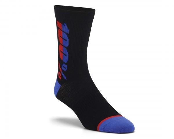 100% Rythym Socken | black
