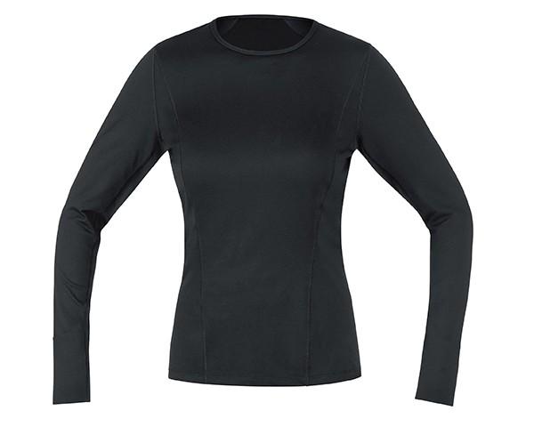 Gore Bike Wear BASE LAYER LADY Shirt lang | schwarz